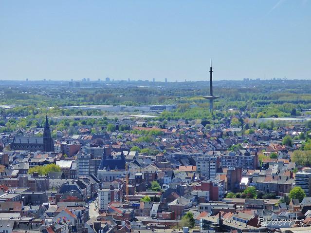 Mechelen (BE) - Panorama zuid