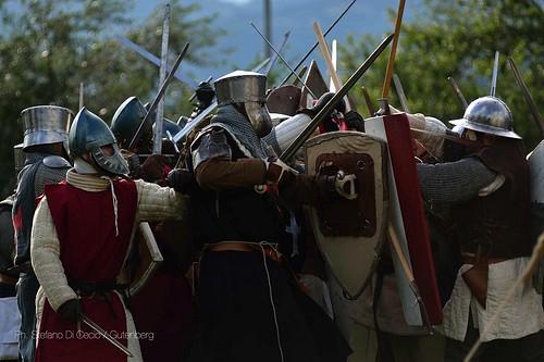Serravalle. Assedio alla Rocca