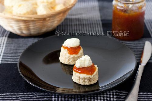 果醬司康餅 Scones02