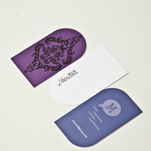 Custom Shaped Business Card