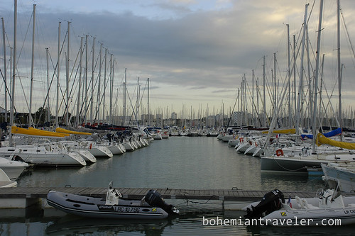 La Rochelle Fance Port boats