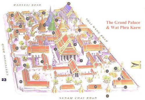 Map Wat Pho