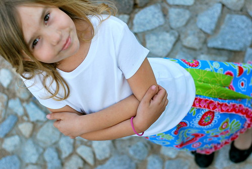 Little Urban Girl Wrap Skirt
