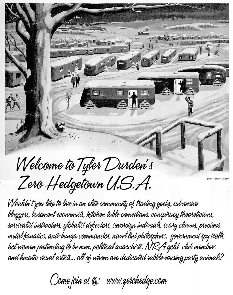 WELCOME TO ZERO HEDGETOWN USA