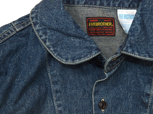 Five Broither / Denim Work Jacket
