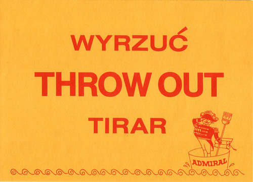 Admiral: Throw Out