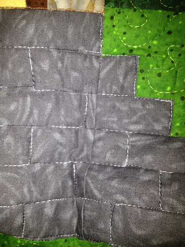 castle step quilting