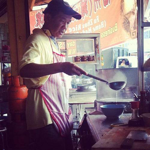 Noodle expert, Penang: