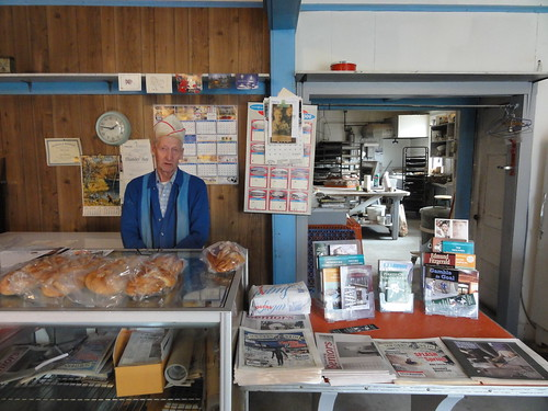 Mike the Baker at Kivela Bakery TB