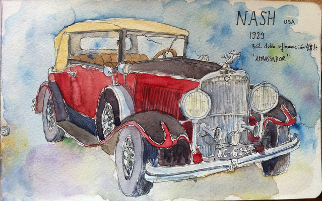 "NASH 1929 ""AMBASSADOR"""
