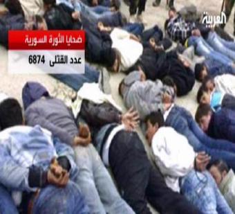 فيديو يظهر جنود الأسد يتناوبون