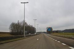 Sur l'autoroute belge
