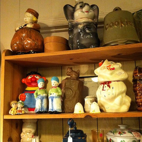 Cookie jars.