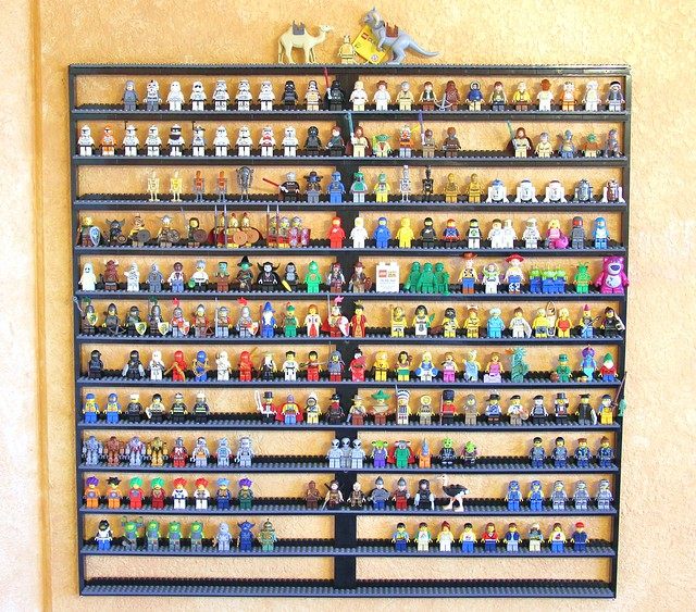 Custom Lego Minifigure Display Case Flickr Photo Sharing