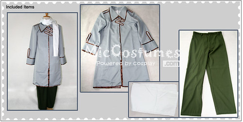 Hetalia Axis Powers Russia Cosplay Costume_2