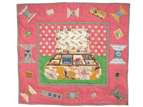 vintage Notions Modern Mini Quilt Entry