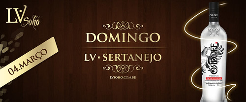 Banner - Domingo Sertanejo by chambe.com.br