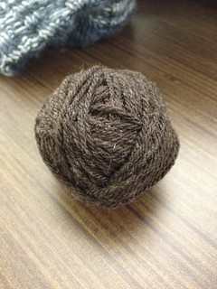 Errant ball of yarn