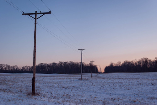 sun snow field sunrise unitedstates pennsylvania infrastructure agriculture electrical utilitypoles mineralpoint smcpa28mmf28
