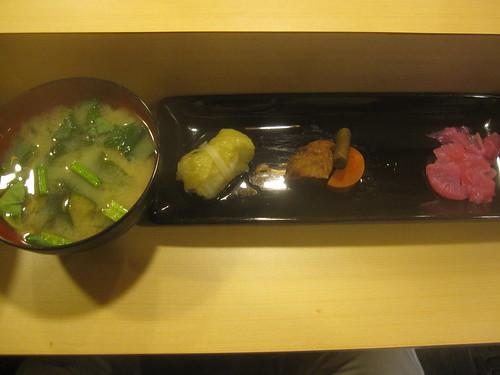お通し@魚がし寿司(桜台)