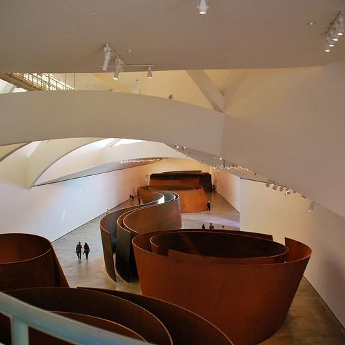 Richard Serra. La materia del tiempo. Sala del Pez. Guggenheim Frank O. Gehry Richard Serra 2272 by javier1949