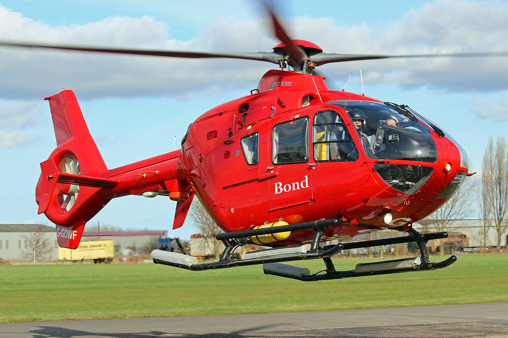 Bond Helicopters EC135 - Offshore Wind Farms support