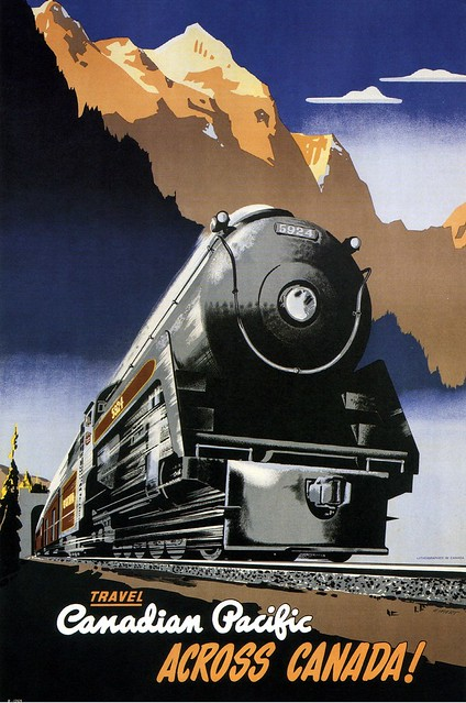 Peter Ewart, Travel Canadian Pacific across Canada! 1947