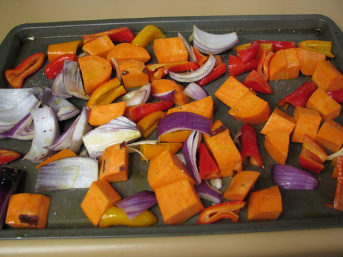veggies ready to roast