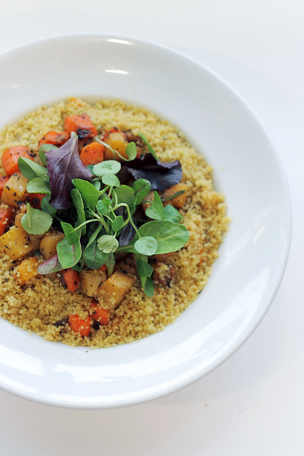 Carrots, Parsnip and mixed herbs Couscous