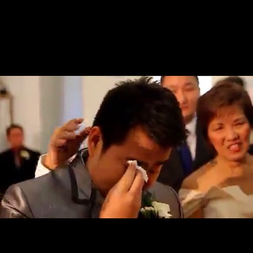 Tears of Joy. Awww. Ang sweet.