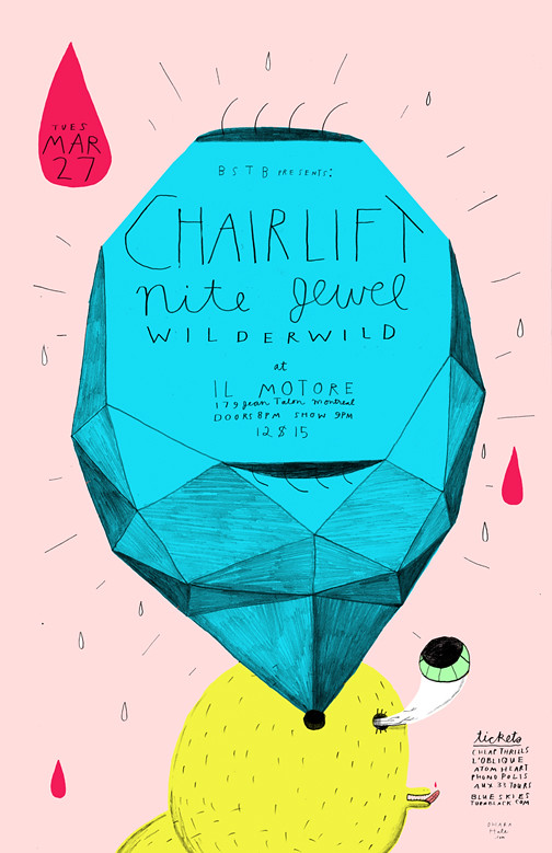 CHAIRLIFT POSTER