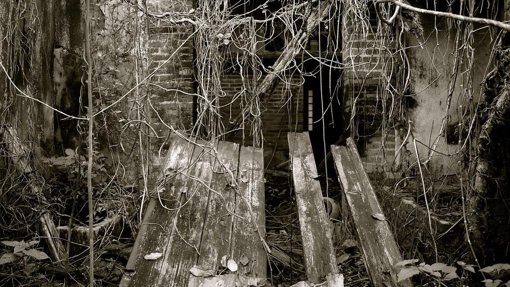 Fallen Doorway