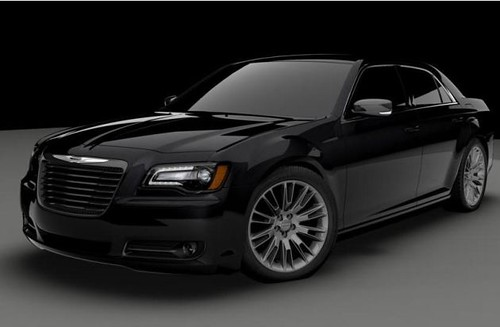 Chrysler creates one-off 300S for charity