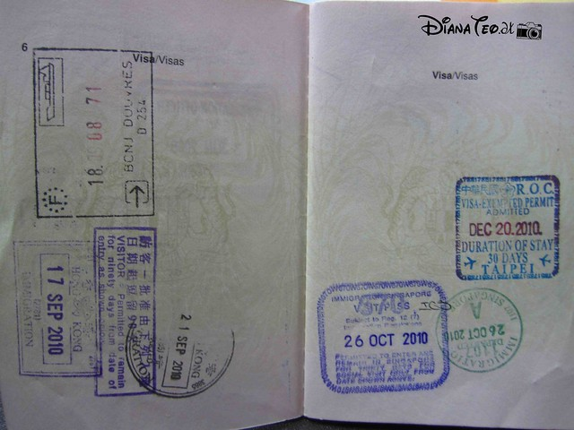 Passport Stamp Collection 02