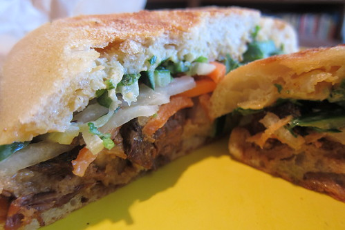 Mendocino Farms: Pork Belly Banh Mi