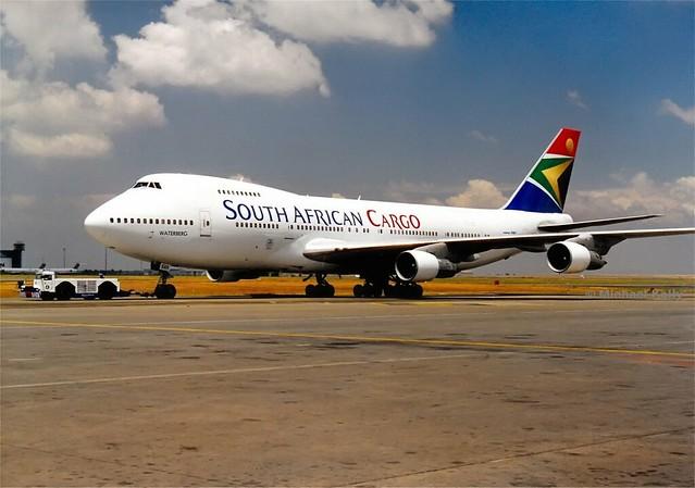 A former SAA Cargo 747