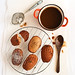Sticky Date Madeleines with Butterscotch Sauce