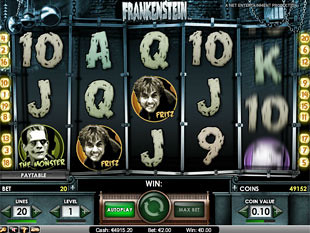 Frankenstein slot game online review
