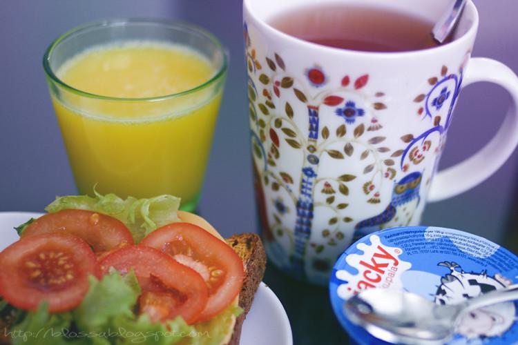 fancy frukost