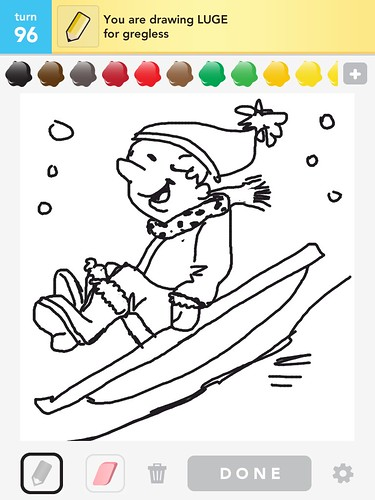 drawsomething: luge