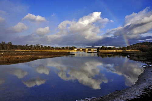 Nubes y arco iris - Clouds and rainbow by Marco Antonio Losas