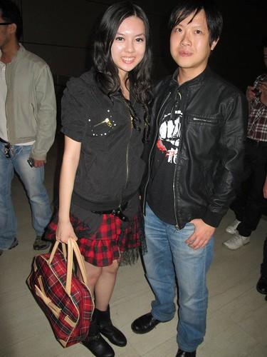 Chee Li Kee and Michael Chuah 蔡業翰