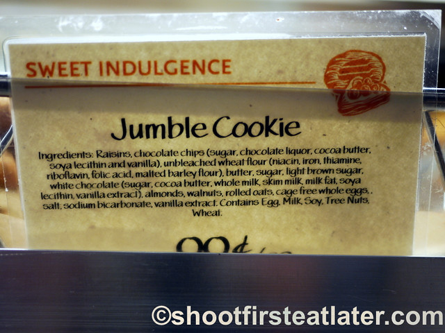 Whole Foods Market jumble cookie