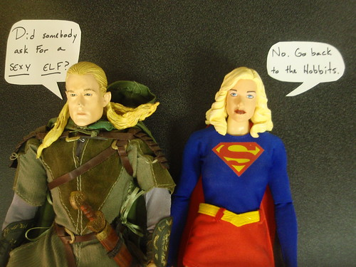 Legolas and Supergirl