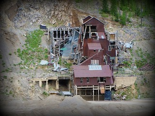 Relic mine near Monarch