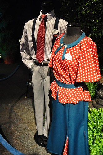 Buena Vista Street costumes