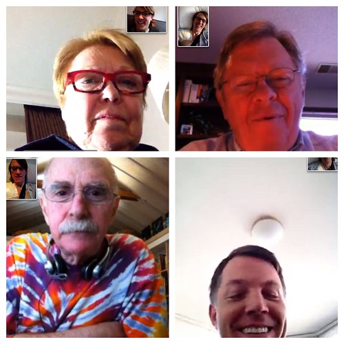 FaceTime with family