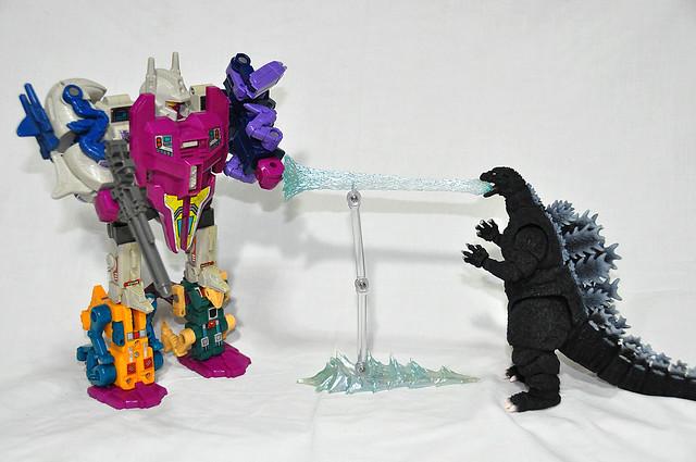 Abominus VS Godzilla