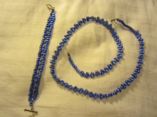 Cat's Eye Bead Weave set