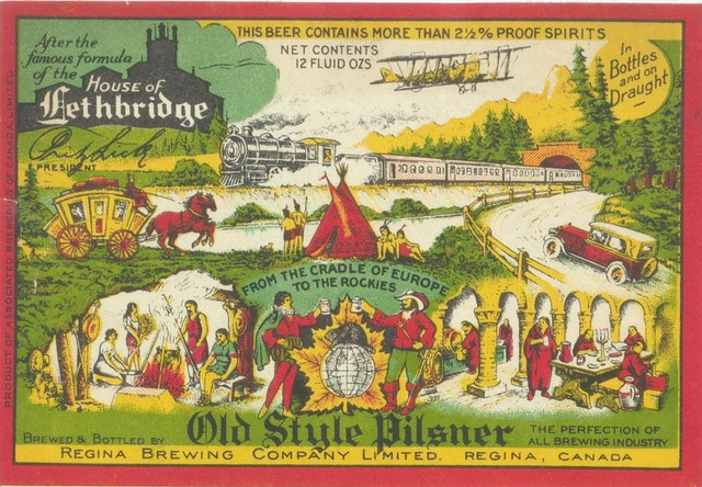 house of lethbridge old style pilsner